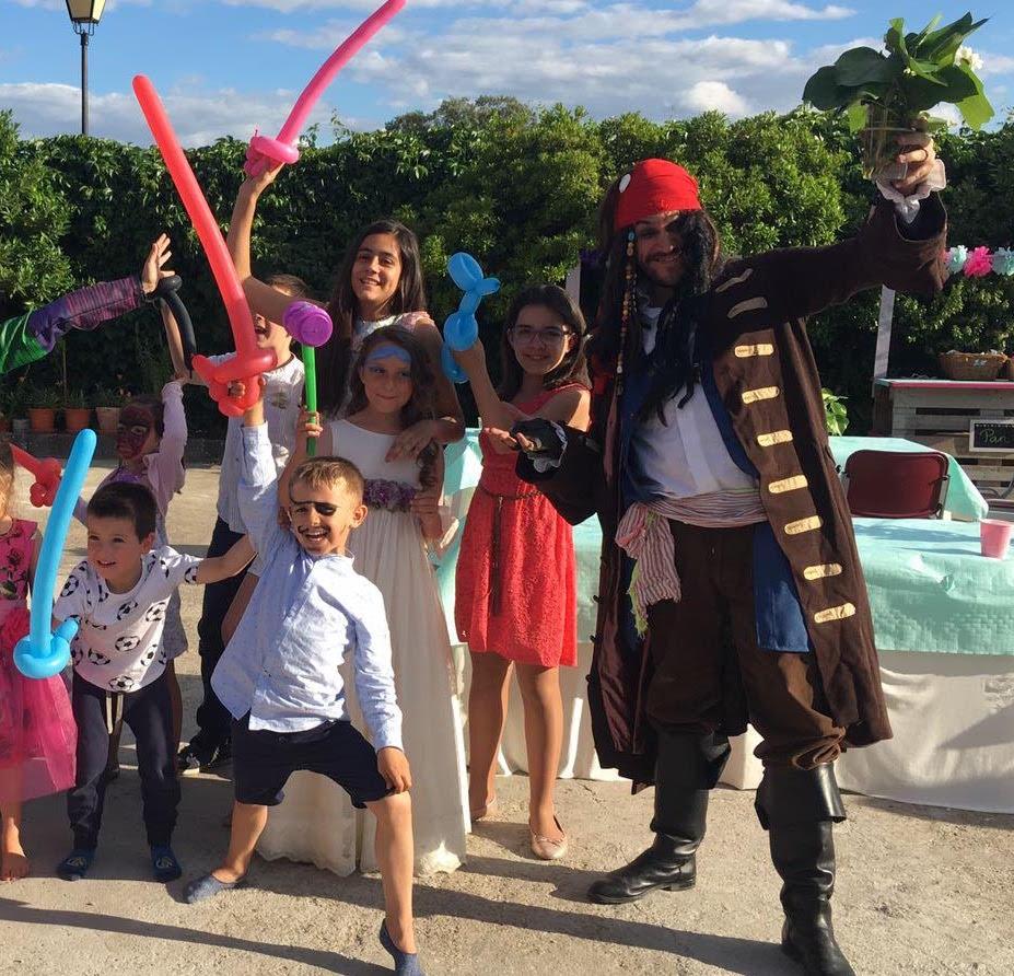 animaciones infantiles de piratas del caribe