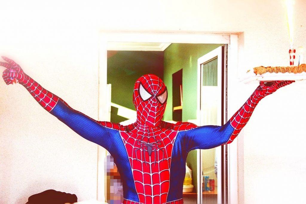 Animaciones infantiles con Spiderman