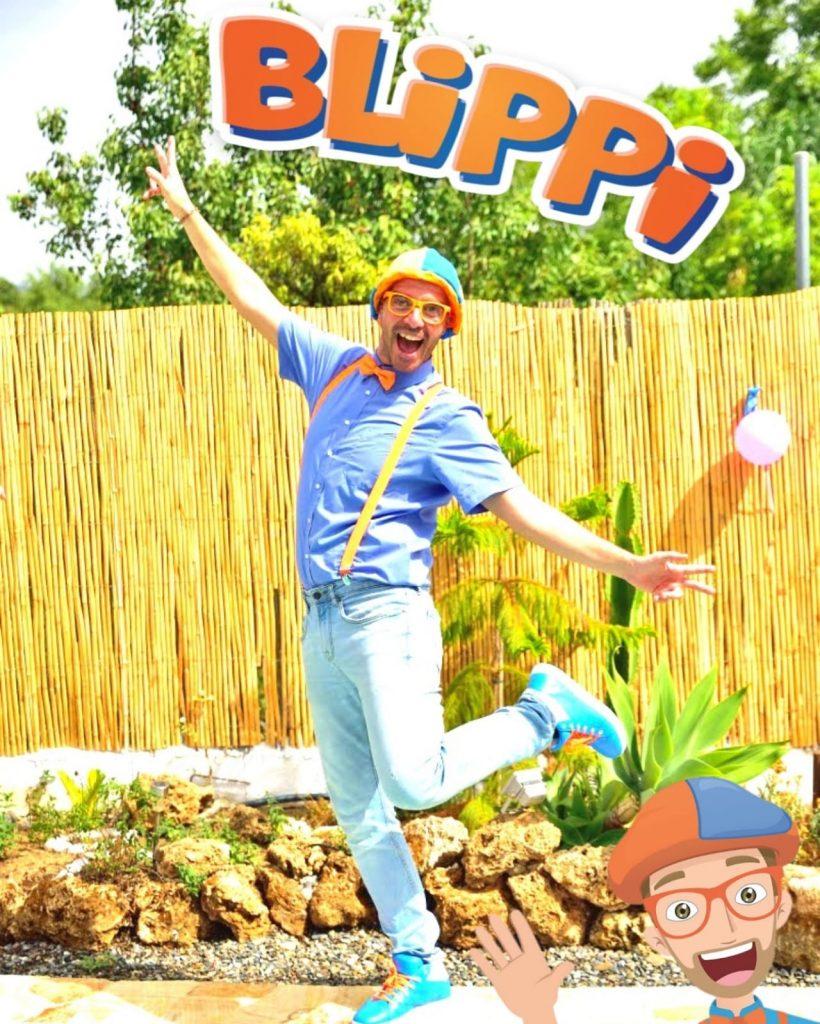 animaciones infantiles con blippi