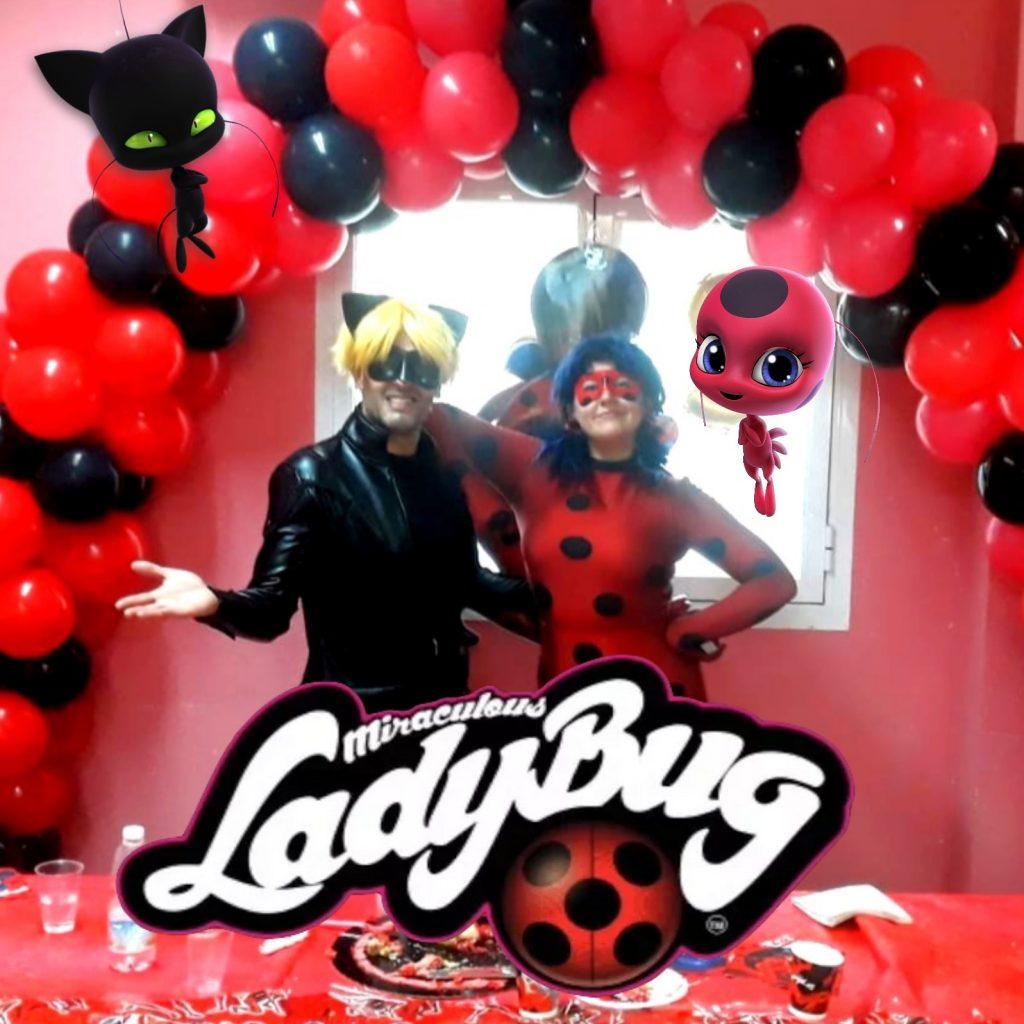 animaciones infantiles con ladybug