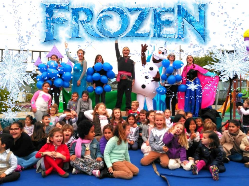 animaciones infantiles con frozen