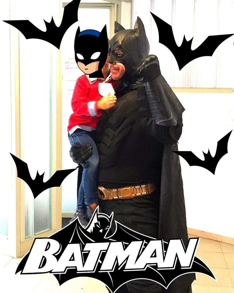 animaciones infantiles con batman