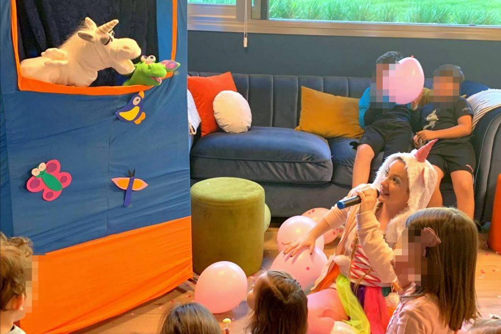 animación infantil de unicornios