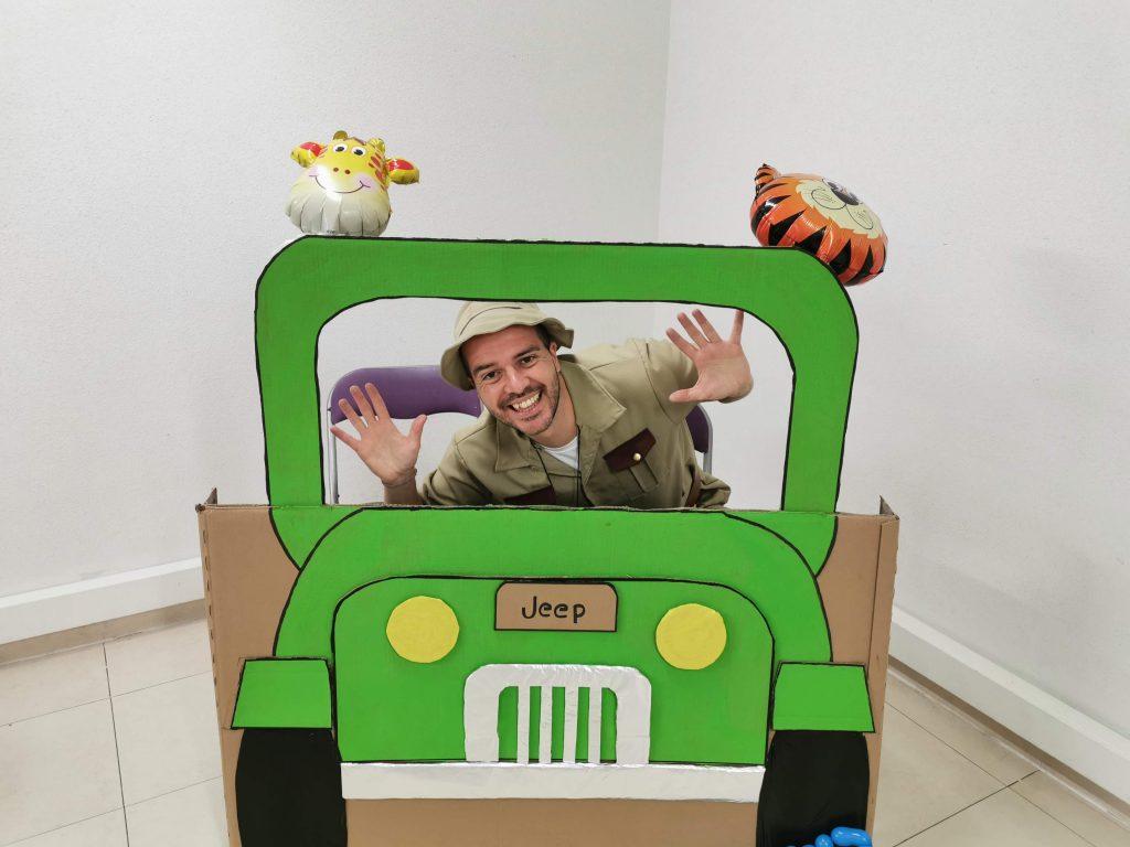 Animaciones infantiles con Exploradores