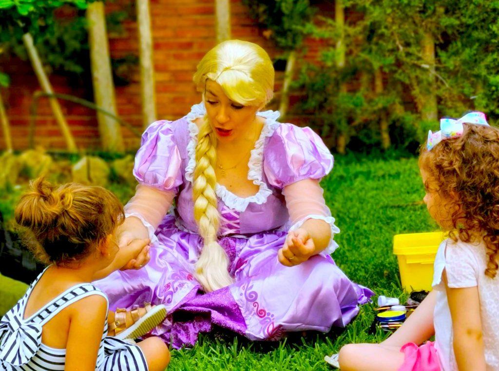 animaciones infantiles con rapunzel