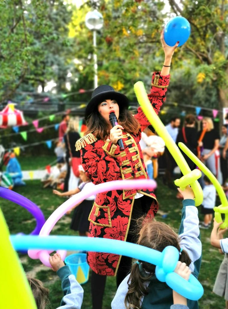 animaciones infantiles del circo