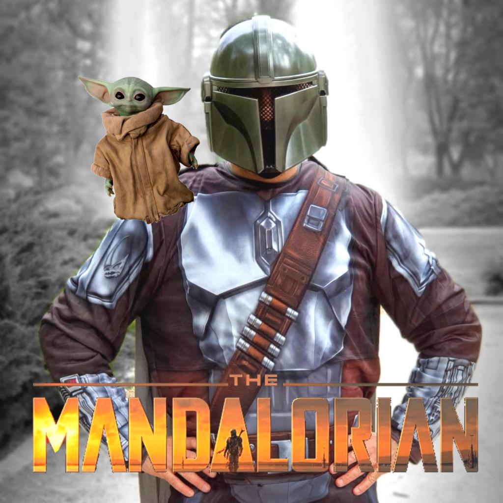 animaciones infantiles con Mandalorian